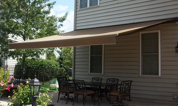 Retractable Aluminum Awnings Chester County Pa